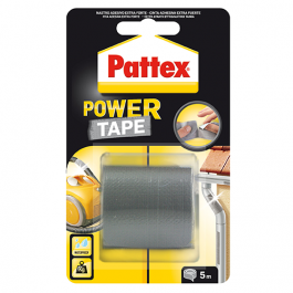 FITA COLA PATTEX POWER-TAPE GRIS  50 X 5M