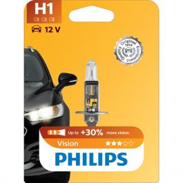 LÂMPADA H1 PHILIPS VISION 55W 12V 1 UNID.