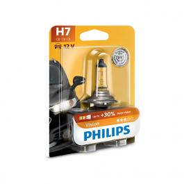 LÂMPADA H7 PHILIPS VISION 55W 12V 1 UNID.