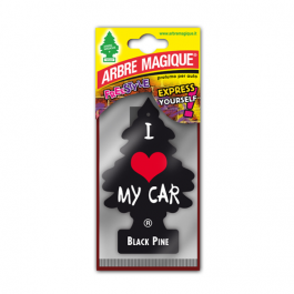 AMBIENTADOR PLACA ARBRE MAGIQUE I LOVE MY CAR