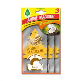 AMBIENTADOR PLACA ARBRE MAGIQUE CÔCO PACK 3