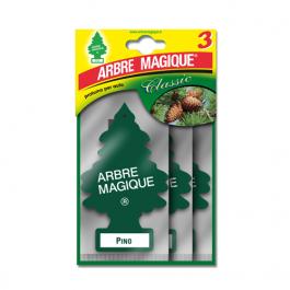 AMBIENTADOR PLACA ARBRE MAGIQUE PINHO PACK 3