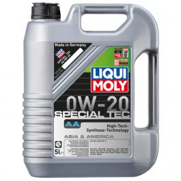 ÓLEO DE MOTOR LIQUI MOLY SPECIAL TEC AA 0W20 5L