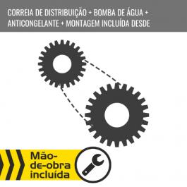 CORREIA DE DISTRIBUIÇÃO + BOMBA DE ÁGUA + ANTICONGELANTE + MONTAGEM INCLUÍDA DESDE