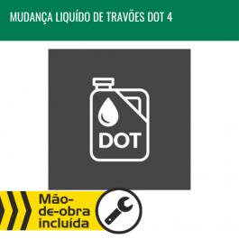 MUDANÇA DE LÍQUIDO DE TRAVÕES DOT4