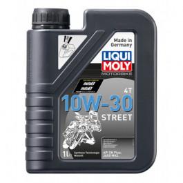 ÓLEO DE MOTOR MOTO LIQUI MOLY MOTORBIKE 4T 10 W-30 STREET 1L