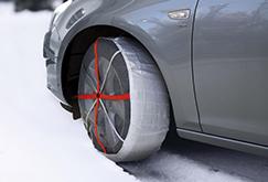 Correntes de neve texteis, uma alternativa às correntes de neve metálicas