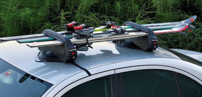 Tipos de porta-skis, qual deve escolher para o seu carro?