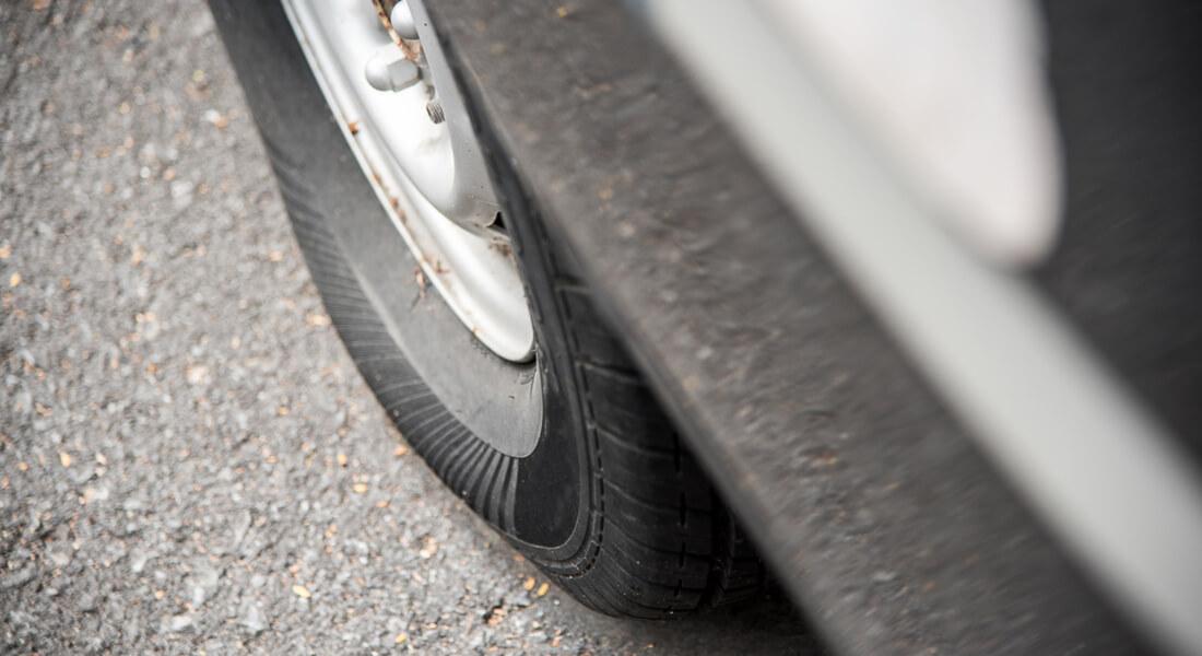 La presión de los neumáticos en invierno