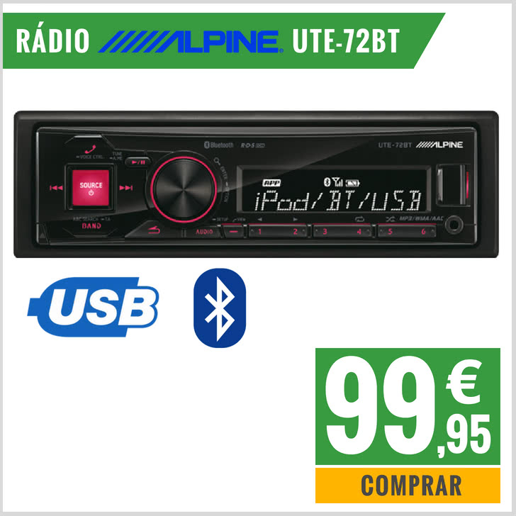 radio carro Alpine
